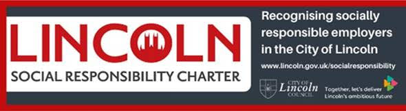 Lincoln Social Responsibility Charter logo